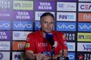 Kings XI coach Brad Hodge at the press conference, Rajasthan Royals v Kings XI Punjab, IPL 2018, Jaipur, May 8, 2018