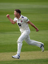 Matt Milnes claimed his first wickets for Kent, Somerset v Kent, County Championship, Division One, Taunton, April 6, 2019