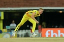 Scott Kuggeleijn bowls, Chennai Super Kings v Kings XI Punjab, IPL 2019, Chennai, April 6, 2019