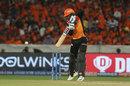 Deepak Hooda punches into the off side, Sunrisers Hyderabad v Mumbai Indians, IPL 2019, Hyderabad, April 6, 2019