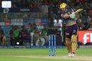 Chris Lynn slaps into the off side, Rajasthan Royals v Kolkata Knight Riders, IPL 2019, Jaipur, April 7, 2019