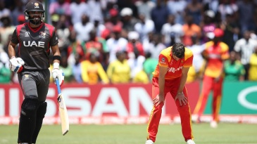 It was a loss to UAE that denied Graeme Cremer's Zimbabwe a ticket to the World Cup