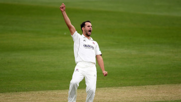 Lewis Gregory claimed a five-wicket haul