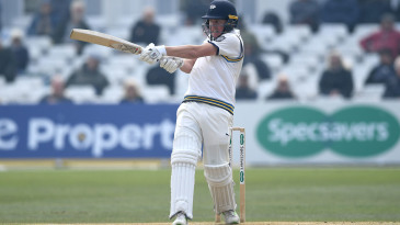 Gary Ballance latches on to a pull
