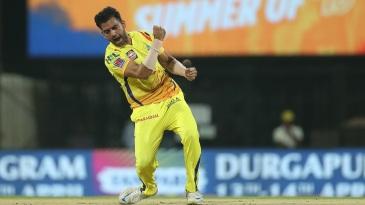 Deepak Chahar sent back Chris Lynn in the first over