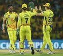 Deepak Chahar was outstanding in the Powerplay again, Chennai Super Kings v Kolkata Knight Riders, IPL 2019, Chennai, April 9, 2019
