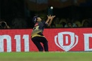 Piyush Chawla did well to get under a catch, Chennai Super Kings v Kolkata Knight Riders, IPL 2019, Chennai, April 9, 2019