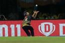 Piyush Chawla did well to get under a catch, Chennai Super Kings v Kolkata Knight Riders, IPL 2019, Chennai, April 9, 2019