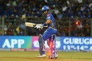 Siddhesh Lad bowled around his legs, Mumbai Indians v Kings XI Punjab, IPL 2019, Mumbai, April 10, 2019