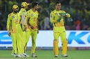 Deepak Chahar convinces MS Dhoni to go for the review, Rajasthan Royals v Chennai Super Kings, IPL 2019, Jaipur, April 11, 2019