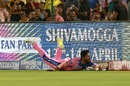 Rahul Tripathi dives to save a boundary, Rajasthan Royals v Chennai Super Kings, IPL 2019, Jaipur, April 11, 2019
