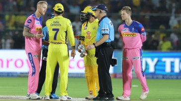 Ben Stokes intervenes as MS Dhoni has a word with the umpires