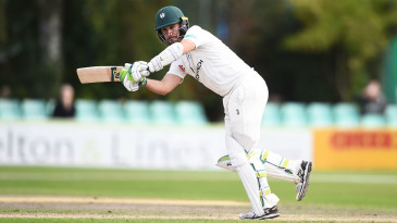 Daryl Mitchell of Worcestershire batting