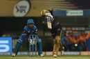 Shubman Gill shows off a straight bat, Kolkata Knight Riders v Delhi Capitals, IPL 2019, Kolkata, April 12, 2019
