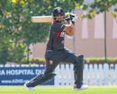 Shaiman Anwar cuts behind point for a boundary, UAE v USA, 2nd T20I, Dubai, March 16, 2019