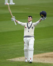 Ollie Robinson reached his maiden first-class ton, Warwickshire v Kent, County Championship, Division One, Edgbaston, 1st day, April 12, 2019