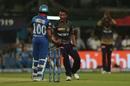 Prasidh Krishna celebrates a wicket, Kolkata Knight Riders v Delhi Capitals, IPL 2019, Kolkata, April 12, 2019