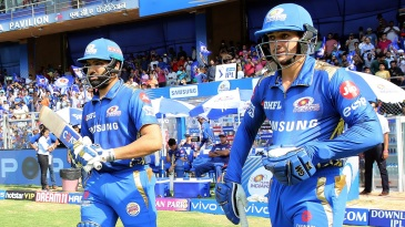 Rohit Sharma and Quinton de Kock gave Mumbai Indians a strong start