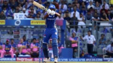 Hardik Pandya lifted Mumbai Indians to a big total