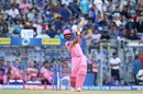 Ajinkya Rahane goes over the top, Mumbai Indians v Rajasthan Royals, IPL 2019, Mumbai, April 13, 2019