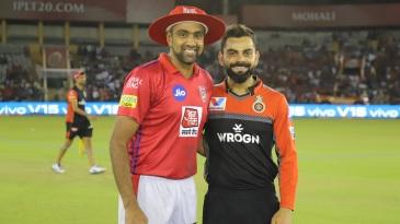 R Ashwin and Virat Kohli at the toss