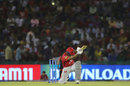 Sarfaraz Khan scoops one over the keeper, Kings XI Punjab v Royal Challengers Bangalore, IPL 2019, Mohali, April 13, 2019