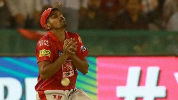 M Ashwin drops a catch