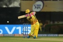 Faf du Plessis drives handsomely, Kolkata Knight Riders v Chennai Super Kings, IPL 2019, Kolkata, April 14, 2019
