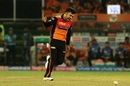 Rashid Khan is over the moon after striking, Sunrisers Hyderabad v Delhi Capitals, IPL 2019, Hyderabad, April 14, 2019