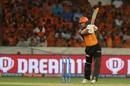 Jonny Bairstow goes hard through the off side, Sunrisers Hyderabad v Delhi Capitals, IPL 2019, Hyderabad, April 14, 2019