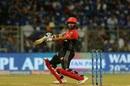 Parthiv Patel cuts the ball away, Mumbai Indians v Royal Challengers Bangalore, IPL 2019, Mumbai, April 15, 2019
