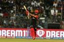 Moeen Ali lifts the ball into the leg side, Mumbai Indians v Royal Challengers Bangalore, IPL 2019, Mumbai, April 15, 2019