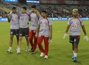 Moises Henriques injured his ankle while warming up before the game, Kings XI Punjab v Rajasthan Royals, IPL 2019, Mohali, April 16, 2019