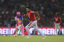 R Ashwin is jubilant after getting Sanju Samson bowled, Kings XI Punjab v Rajasthan Royals, IPL 2019, Mohali, April 16, 2019