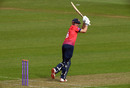 Alastair Cook flicks into the leg side, Glamorgan v Essex, Royal London Cup, South Group, Cardiff, April 17, 2019