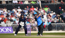 Riki Wessels hits down the ground, Lancashire v Worcestershire, Royal London Cup, North Group, Old Trafford, April 17, 2019