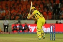Shane Watson glances one away, Sunrisers Hyderabad v Chennai Super Kings, IPL 2019, Hyderabad, April 17, 2019
