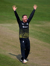 Tom Smith appeals for a wicket, Gloucestershire v Surrey, Royal London Cup, South Group, Bristol, April 17, 2019