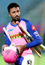 Shreyas Gopal prepares for a batting session at the nets, IPL 2019, April 18, 2019