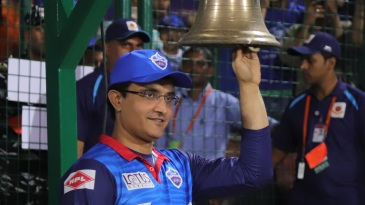 Sourav Ganguly rings the bell