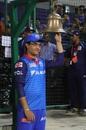 Sourav Ganguly rings the bell, Delhi Capitals v Mumbai Indians, IPL 2019, Delhi, April 18, 2019