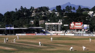 Welcome, bowlers: Kandy's old ground, the Asgiriya, heavily favoured bowlers, even though the Pitch Quality Index improved as the match went on