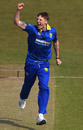 Brydon Carse bowled an incisive spell, Durham v Leicestershire, Royal London Cup, North Group, Chester-le-Street, April 19, 2019