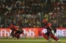 Parthiv Patel and Virat Kohli found the new ball tough to get away, Kolkata Knight Riders v Royal Challengers Bangalore, IPL 2019, Kolkata, April 19, 2019