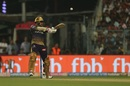 Sunil Narine negotiates a short ball, Kolkata Knight Riders v Royal Challengers Bangalore, IPL 2019, Kolkata, April 19, 2019