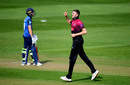 Craig Overton claimed a five-for, Somerset v Kent, Royal London Cup, South Group, Taunton, April 19, 2019