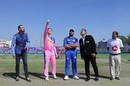 Steven Smith won his first toss after being named the new Royals captain, Rajasthan Royals v Mumbai Indians, IPL 2019, Jaipur, April 20, 2019