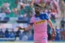 Stuart Binny tries to get his field absolutely right, Rajasthan Royals v Mumbai Indians, IPL 2019, Jaipur, April 20, 2019