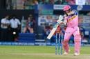 Steven Smith cracks one to the off side, Rajasthan Royals v Mumbai Indians, IPL 2019, Jaipur, April 20, 2019