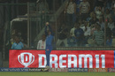 Colin Ingram holds on to a catch by the boundary rope, Delhi Capitals v Kings XI Punjab, IPL 2019, Delhi, April 20, 2019